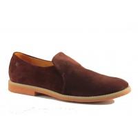 Eжедневна обувка - Бордо велур