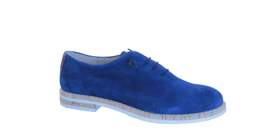 Elegant Shoes - Blue suede