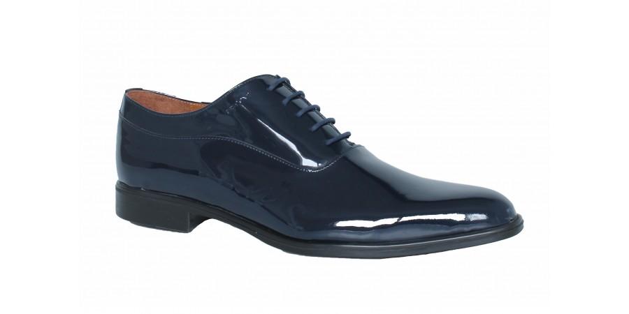 Elegant Shoes - Dark Blue Lak