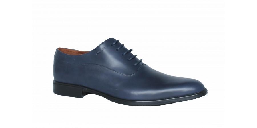 Elegant Shoes - Blue nappa