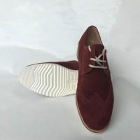 Casual Shoes - Bordeaux suede