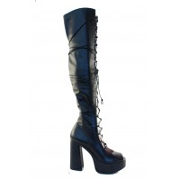 Boots - Black napa