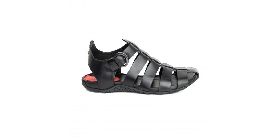 Sandal - Black Hood