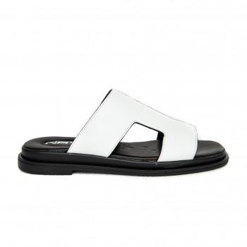 Sandal - White Napa