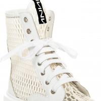 Boots - White Net