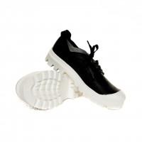 Sneaker - Black Napa