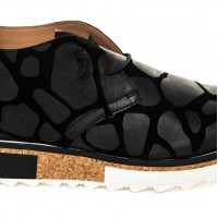 Casual Shoes - Suede Print