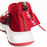 Sneaker - Red Neoprene